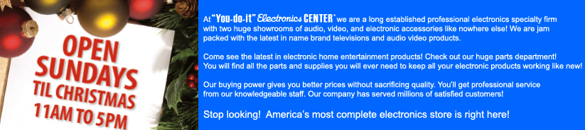 You do it electronics center click on the above for details solutioingenieria